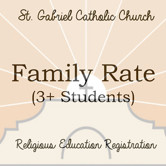 Family Rate (3+)