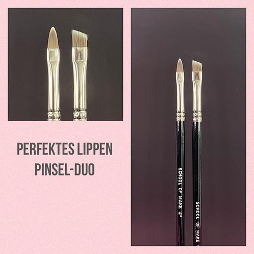 Perfektes Lippen Pinsel-Duo