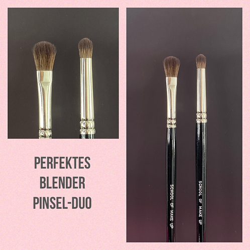 Perfektes Blender Pinsel-Duo