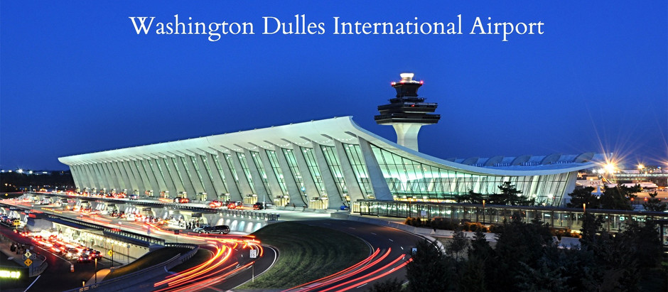Limousine & Black Car Service To/From Dulles International Airport (IAD)