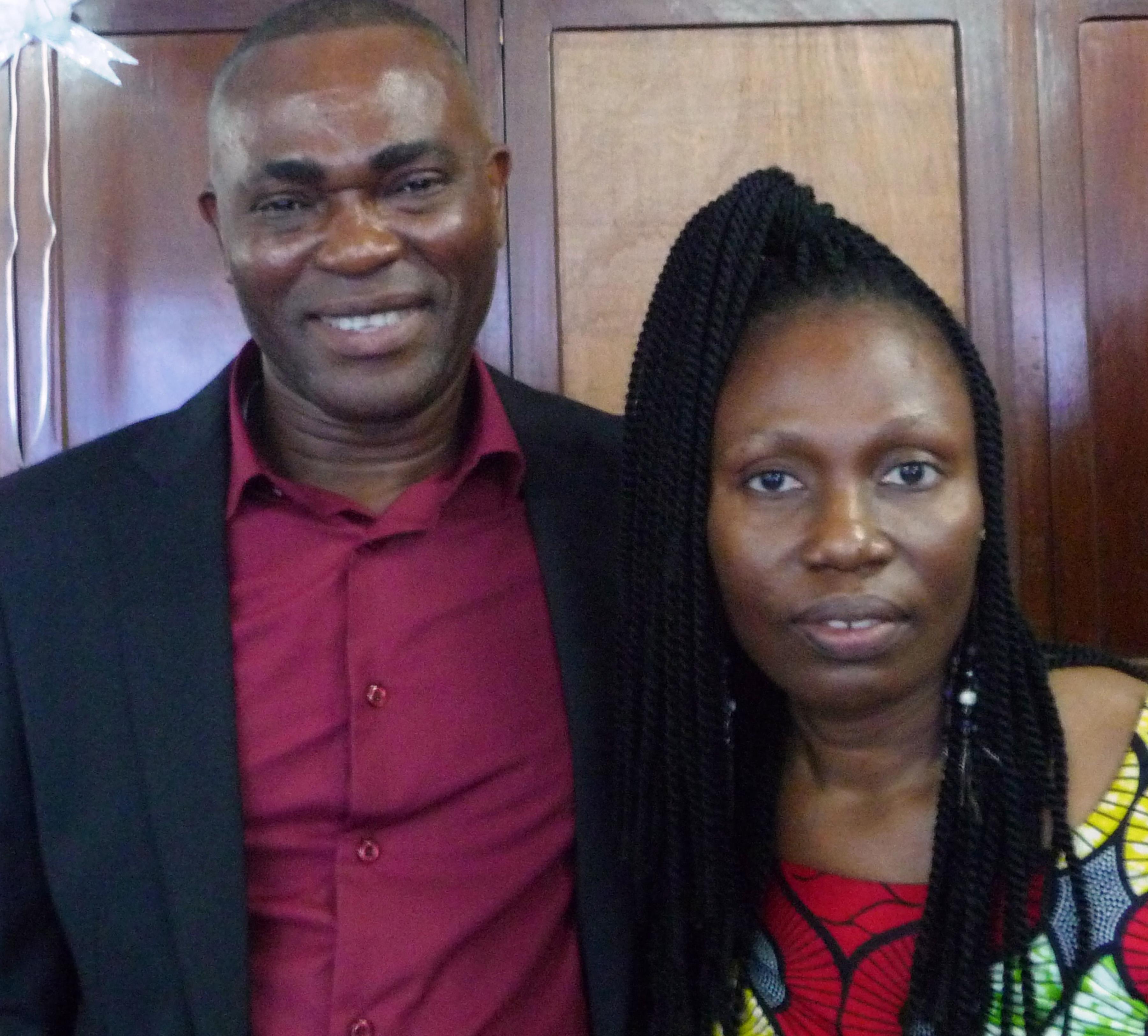 Ezéchiel Zossou & Marie-Thérèse Kwadzo