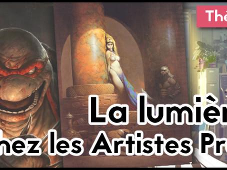 La théorie de la lumière chez les artistes