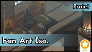 Projet : Fan art isométrique
