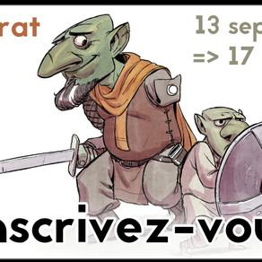Le mentorat de Septembre est ouvert!