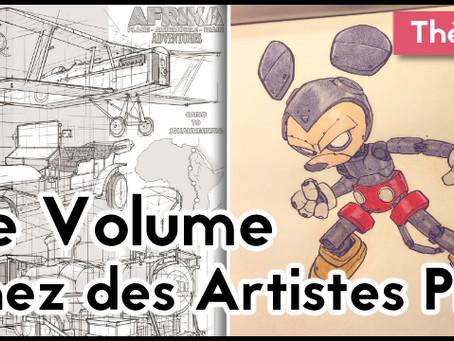 Le volume chez les artistes