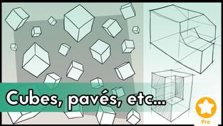 Cubes, pavés et pyramides