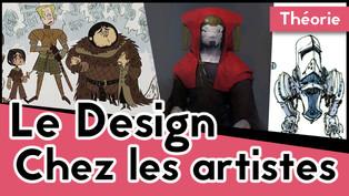 Le design chez les artistes pros