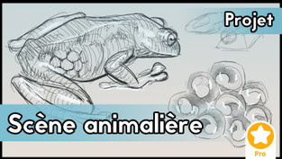 Projet : Scène animalière (màj 2 juillet 21)
