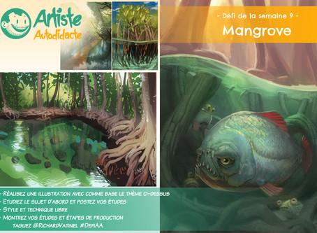 Défi de la semaine #9 : Mangrove
