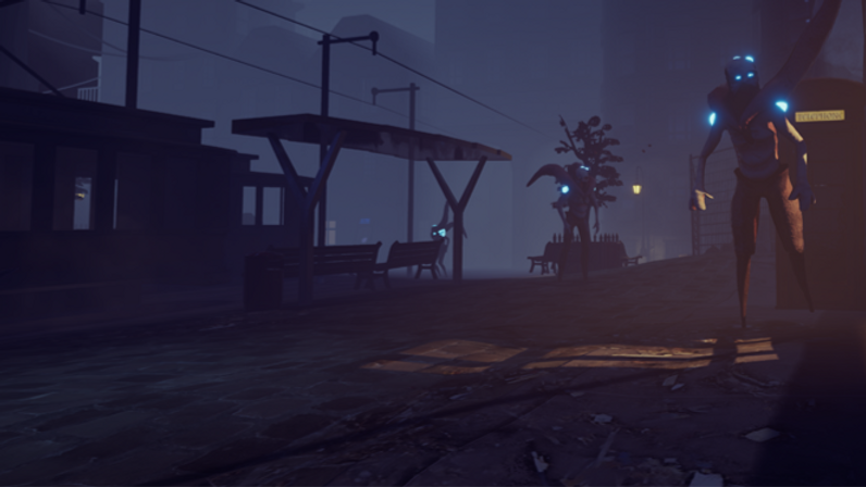 A screenshot from a PSQ student made game.
