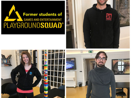 Former PlaygroundSquad students