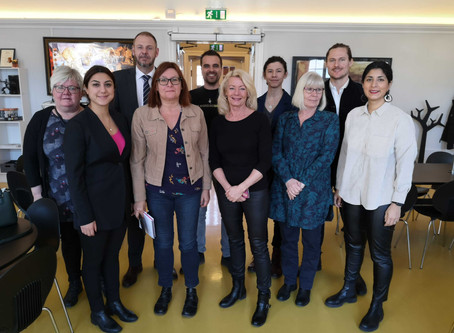 Visit from the Swedish Parliament!