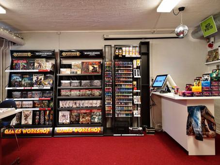 PSQ har fått en spelbutik i huset!