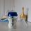 Thumbnail: Tommee Tippee - Biberón Anticólico Avanzado Polipropileno 9oz Azul x2 unid. 0m+