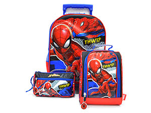 Scool - Set Escolar Spider-Man Mal+Lonch+Cart (Oficio)