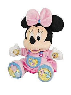 Disney Baby-Peluche Musical Minnie Bebe Juega y Aprende