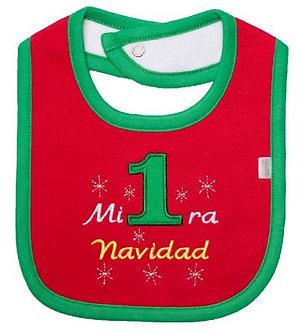 Piccole Cose - Babero - Mi Primera Navidad