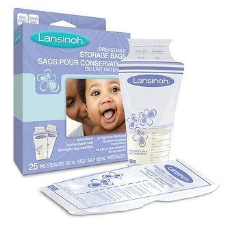 Lansinoh - Bolsas de Almacenamiento para Lecha Materna x 25 unid.