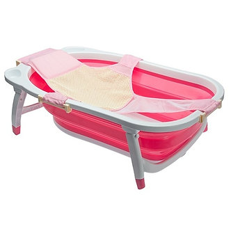 Infanti - Hamaca para Bañera Bubbles Rosado