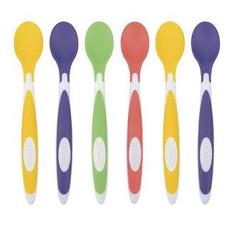 Dr. Brown's -  Pack de 6 cucharas suaves 4m+