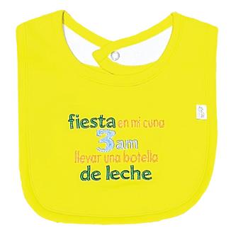 Piccole Cose - Babero - Fiesta En Mi Cuna a Las 3am