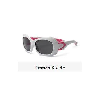 Real Shades-Lentes de Sol Breeze-4 años a más-Blanco/Rosado
