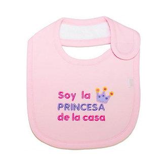 Piccole Cose - Babero Soy La Princesa de la Casa
