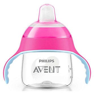 Avent - Taza Spout Premium 7oz Rosado
