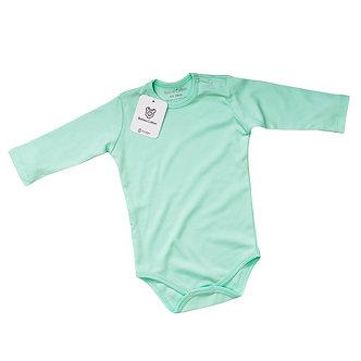 Babas Cotton - Body M/L Verde Agua - Algodón Pima