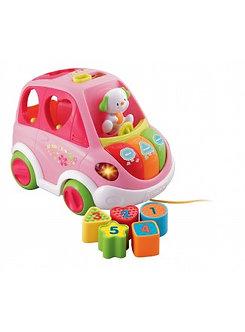 Vtech-Mini Auto Colorín Rosado