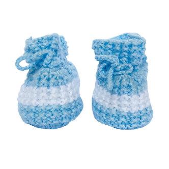 Babas - Botitas de lana - 0 a 3 meses - Diseño bebé Oliver