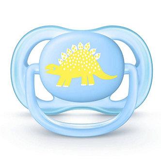 Avent - Chupón Ultra Air 0-6 Meses Dino x1