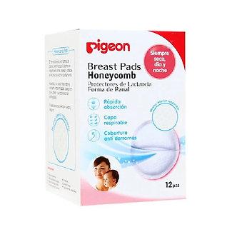 Pigeon - Protectores de Lactancia Honeycomb x 12 unid.