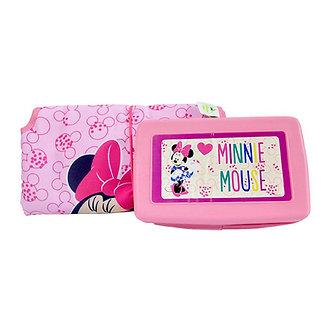 Disney Home-Cambiador Minnie con estuche para toallitas