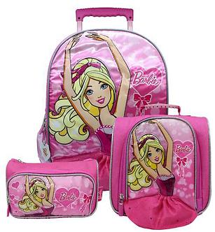 Scool - Set Escolar Barbie Mal+Lonch+Cart (Oficio)