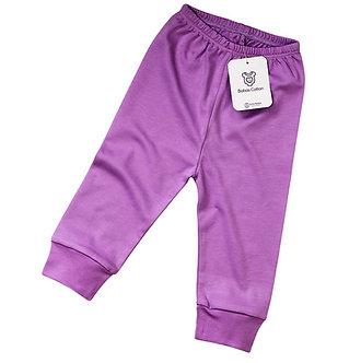 Babas Cotton - Pantalón Lila - Algodón Pima