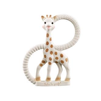 Sophie La Girafe - Anillo Mordedor So' Pure de Caucho Natural