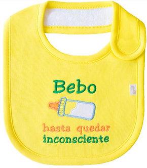 Piccole Cose - Babero - Bebo Hasta Quedar Inconsciente