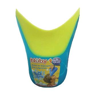 Nuby - Balde De Enjuague Amarillo con Celeste