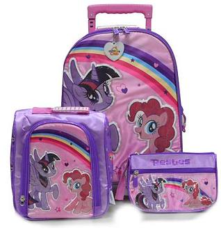 Scool - Set Escolar My Little Pony Mal+Lonch+Cart (Oficio)
