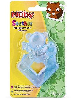 Nuby - Anillo Mordedor Refrigerante Osito Celeste