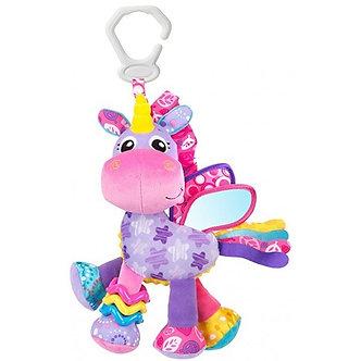Playgro - Juguete Para Coche y Actividades Unicornio Stella