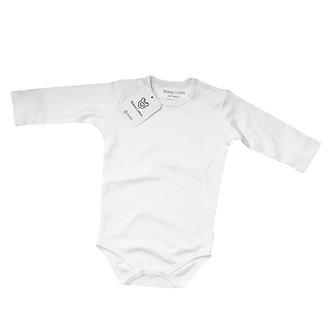 Babas Cotton - Body M/L Blanco - Algodón Pima