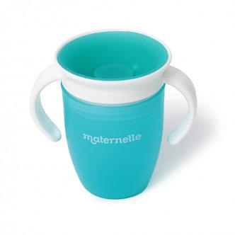 Maternelle - Vaso Entrenador Antiderrame - Turquesa