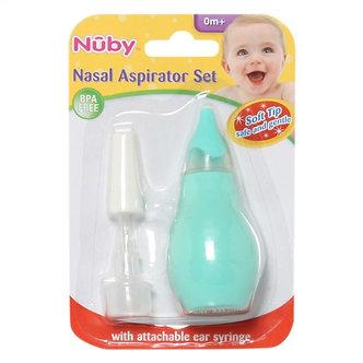 Nuby - Aspirador Nasal Verde