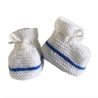 Babas - Botitas de lana - 0 a 3 meses - Diseño bebé Vasco