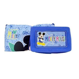 Disney Home-Cambiador Mickey con estuche para toallitas