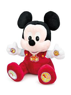 Disney Baby-Peluche Musical Mickey Bebe Juega y Aprende