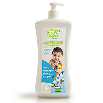 Salvy Natural - Limpiador de Biberones y Accesorios Salvy Natural 1 Litro