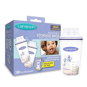 Lansinoh - Bolsas de Almacenamiento para Leche Materna x 100 unid.